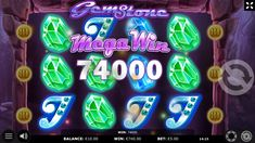 """How does it look like if you win big time? Take a look at our Mega Win from our game """"Gem Stone"""". If you also want to try your luck, go to our Kajot Casino website."""