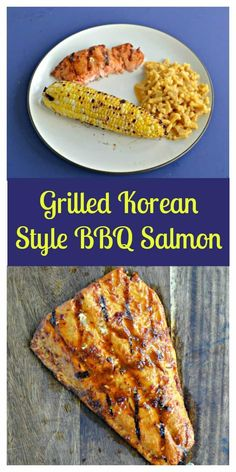 Grilled Korean Style BBQ Salmon is spicy and cooked to perfection. #grilledfood #salmonrecipe #BBQrecipes #easyrecipes   Easy Recipes   BBQ Recipes   Korean Recipes   Salmon Recipes   Fish Recipes   Grilled Recipes Grilled Recipes, Salmon Recipes, Seafood Recipes, Dinner Recipes, Shellfish Recipes, Picnic Recipes, Meal Recipes, Dinner Ideas, Fish Dishes