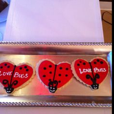 Love Bug cookies!