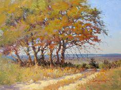 Landscape Artists International: Jimmy Longacre_subjective realist landscape paintings_ THE TIME AWAY EFFECT