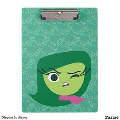 Disgust Clipboards