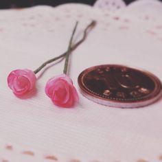 마니어쳐 장미 몇송이 더 만들어 봄 #miniature #flower #rose #미니어쳐 #미니어쳐꽃 #미니어쳐장미