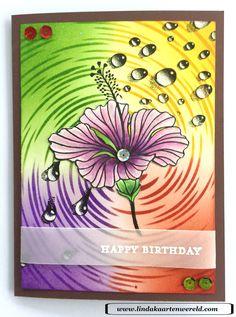 Happy birthday#designesByRyn#hibicus#watereffect#andy#skinner#tornado#LeuksteStempels