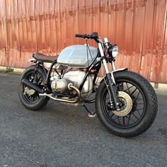The #bmw #r100 is done. #clutchcustommotorcycles