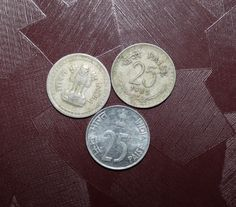 #25#paise#coin#india