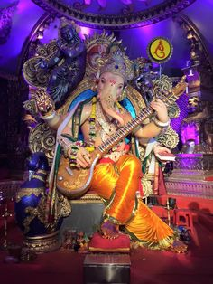 Chinchpoklicha Chintamani Ganesh 2015 Ganesha Pictures, Radha Krishna Pictures, Android Wallpaper Girl, Hindu Deities, Hinduism, Ganpati Picture, Dancing Ganesha, Ganesha Drawing, Ganesh Lord