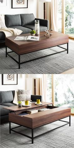3fb1776425603 33 Beautiful Lift-Top Coffee Tables To Help You Declutter and Multi-Task.  Coffee Tables For SaleLift ...
