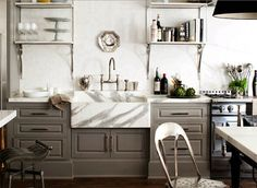{trendspotting: grey cabinetry}