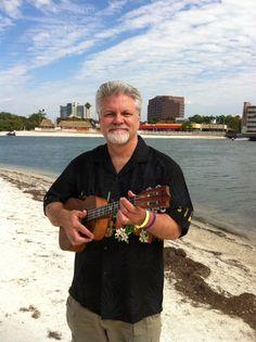 Bry Harris playing Kala Acacia at Music on the Bay (Tampa)