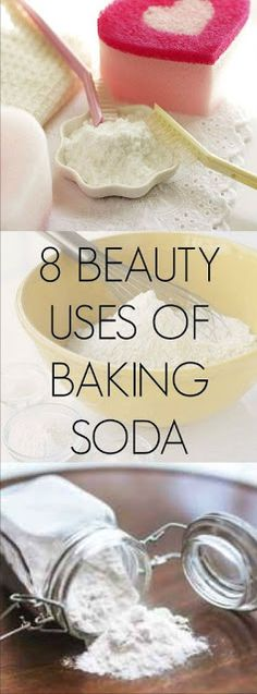 8 BEAUTY USES OF BAKING SODA