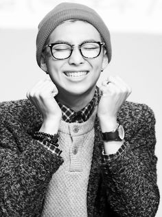 Bangtan Boys ❤ Namjoon (rapmon) | tumblr//// the glasses!! With the glasses!!!  You're killing me rap mon....