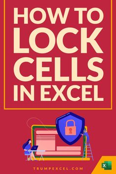Excel allows you to lock specific cells and even the entire worksheet.     This could be useful when your pairing your work with other people and don't want them to access your formulas or making us your data.    In this Excel tips tutorial, I will show you easy ways to lock cells in Excel.     It will show you how to lock the entire worksheet, lock specific cells, or lock all the cells and keep specific cells unlocked. Microsoft Excel, Microsoft Office, Computer Tips, Computer Programming, Excel For Beginners, Excel Hacks, Staff Motivation, Pivot Table, Learning Courses