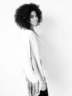 Thalia, model represented by Chantale Nadeau #NaturalHair