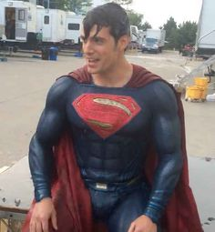Cause it's important. | Henry Cavill And His Super Bulge Take The Ice Bucket Challenge