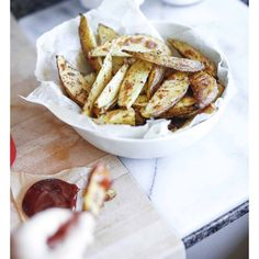 Fat free crispy herbed wedges sooooo good. Recipe and instructions in my previous post! #feelthelean