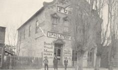 """The Payson Chronicle #ThrowbackThursday #tbt """"The building that once housed Dixon's Market located between Main Street and First East on the north side of First North was originally constructed by Walter Huish in 1870,"""" writes L. Dee Stevenson of the Payson Historical Society in this week's edition of The Payson Chronicle. """"It housed a furniture store on the main floor and and a casket manufacturing business…"""