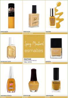 Pantone Fashion Color Report FALL 2016 | 8/10 | Spicy Mustard - Unha Bonita