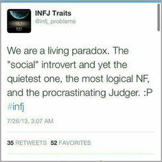 Infj paradox