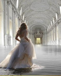 flooded palace. This is stunning. I wish. Inspires a story.