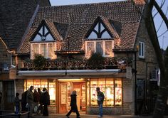 Christmas...Bourton on the Water