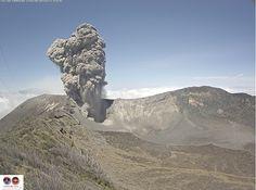 Turrialba volcano, 13/03/2015
