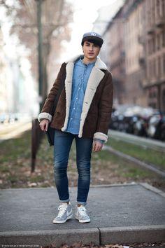 mens Stockholm street style streetstyle lammy jeans nike sneakers cap shirt fashion men tumblr