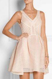 Fashion Blossoming Flower Mini Shift White Dress - OASAP.com