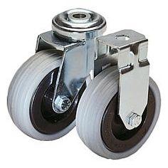 Roulette pivotante ou fixe modèle standard // Swivel and fixed castors standard version // REF 95010