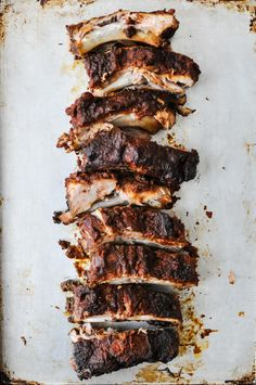 BBQ Slow-Cooker Baby Back Ribs