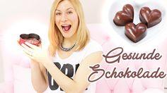 Schokolade OHNE Zucker!!!   Gesundes Rezept für gesunde Snacks selbst gemacht  VERONICA-GERRITZEN.DE - YouTube