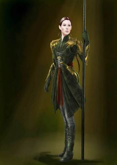 Concept art Arwen. I don't know why but I love this so much.