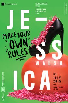 Make Your Own Rules / AIGA Presents Jessica Walsh on Behance