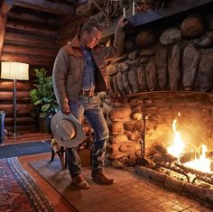 Unfortunately, Kevin Costner won't be there. 💔 Yellowstone Cabins, Yellowstone Series, Yellowstone National Park, National Parks, Cool Places To Visit, Places To Go, Cole Hauser, Montana Ranch, Urban Cowboy