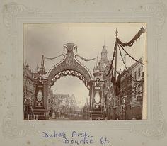 1901 the Duke's Arch, Bourke Street