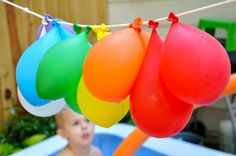 Little Bit Funky: 40 Ideas - Number 7 - Water Balloon Pinata!