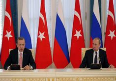 Άγκυρα και Μόσχα υπέγραψαν συμφωνία για τον αγωγό φυσικού αερίου «Turkstream»
