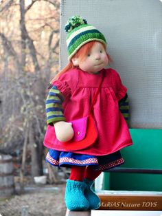Waldorf doll and clothes