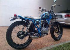 Motor CB Modifikasi Harley