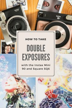 Taking double exposures with the Fujifilm Instax Mini 90 and Square instant - Instax Camera - ideas of Instax Camera. Trending Instax Camera for sales. - Taking double exposures with the Fujifilm Instax Mini 90 and Square instant cameras.