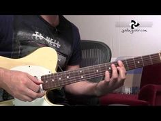 Brown Sugar - The Rolling Stones - Guitar Lesson Tutorial - Open G tuning - YouTube