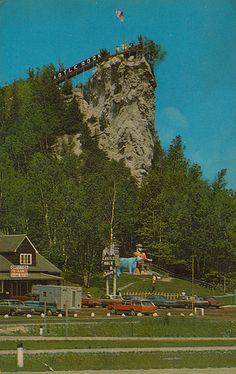 Paul Bunyan at Castle Rock - St. Ignace, Michigan