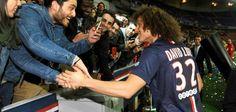 PSG : David Luiz n'aime pas être imité, L1 / PSG, euro 2012