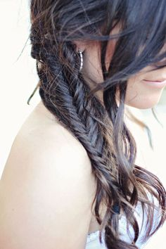 Fishtail! Wonder if my hair is long enough for this...