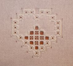 Cutting Around The Buttonhole Stitched Shapes Whenever I get asked how I cut around the buttonhole stitched hardanger pieces, the very...