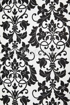 Luxury Wallpaper Light Gold Dark Grey Damask Feature Wall - Wallpaper for walls black and white