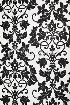 Black And White Wallpaper For Bedroom