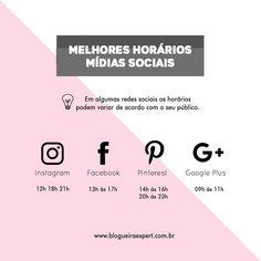 """107 curtidas, 9 comentários - Marketing Digital ⤴️ (@blogueiraexpert) no Instagram: """"Você sabia que existem horários em que as pessoas estão mais ativas nas redes sociais, como pinterest, Instagram ? #dicasparablogueiras #marketingdigital #pinterest"""""""