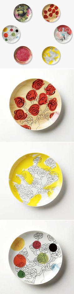 Trey Speegle ~ Paint by Numbers plate series