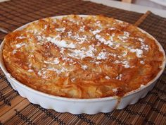 It All Tastes Greek To Me: Easy sweet milk phyllo pie (Patsavouropita) Famous Desserts, Greek Desserts, Greek Recipes, Quiche Recipes, Cookbook Recipes, Dessert Recipes, Cooking Recipes, Custard Cake, Ice Cream Pies