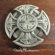 Great American Products Celtic Knot Iron Cross Pewter Belt Buckle #GreatAmericanProducts #Classic